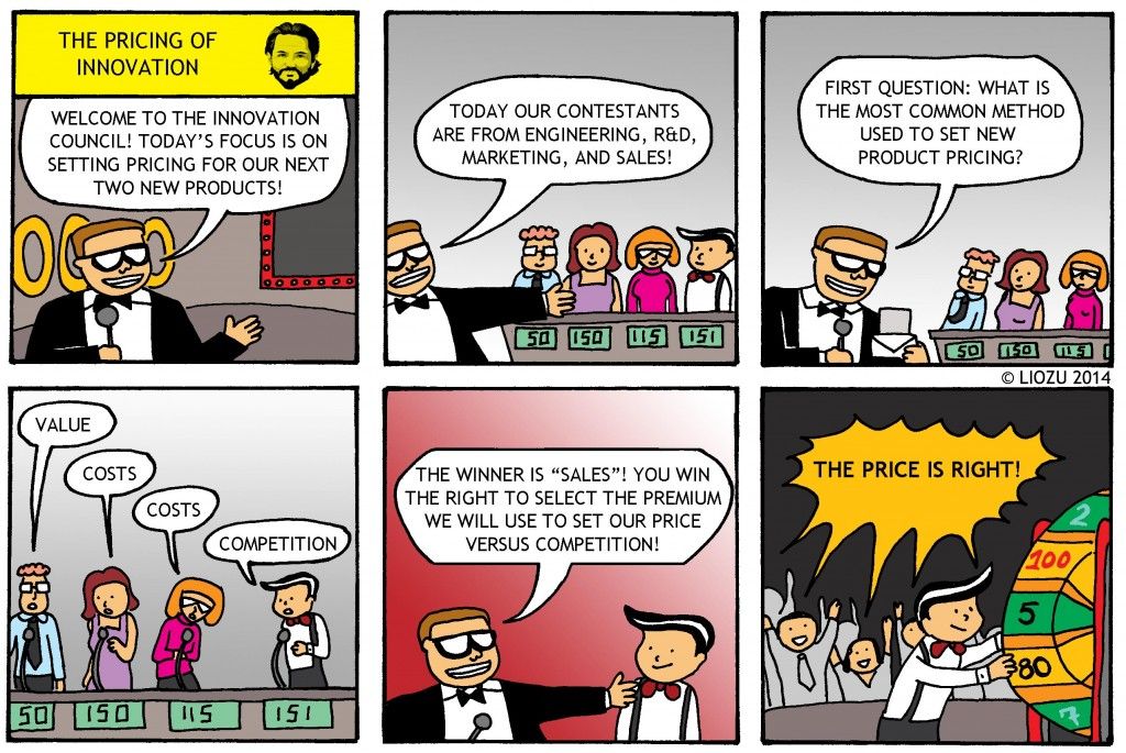 Pricing Comic The Pricing of Innovation LR